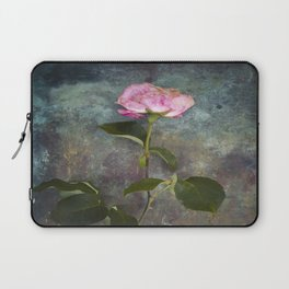 Single Wilted Rose Laptop Sleeve
