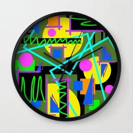 Playful Chaos Wall Clock