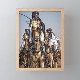 Journey - Tuareg nomads, Africa Framed Mini Art Print