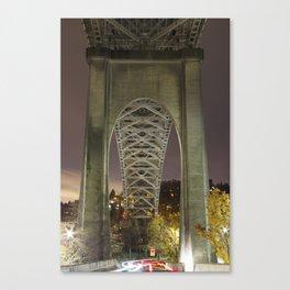 Luminous Bridge Canvas Print