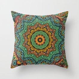 Mandala VII Throw Pillow