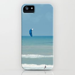 Kitesurfing iPhone Case