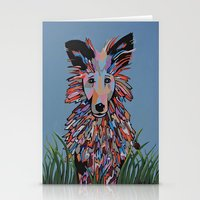 wiz khalifa Stationery Cards featuring Wiz by Sartoris ART