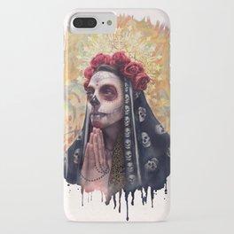 """""""Katrina"""" - Skull girl iPhone Case"""