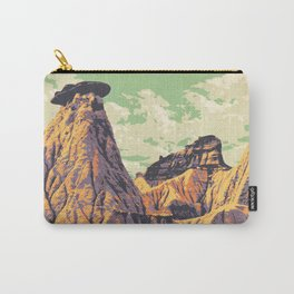 Dinosaur Provincial Park Carry-All Pouch