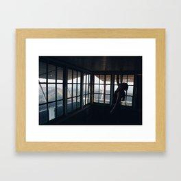 An Endless Mountainous Expanse Framed Art Print