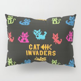 Cat Invaders Pillow Sham