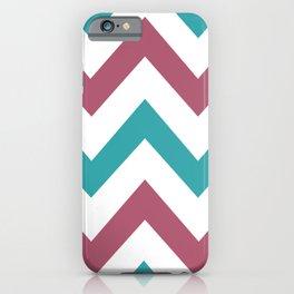 Zig Zag Pattern iPhone Case