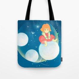 Dandelion strawberry Tote Bag