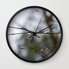 After The Thaw Wall Clock