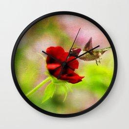 Spring Delight Wall Clock