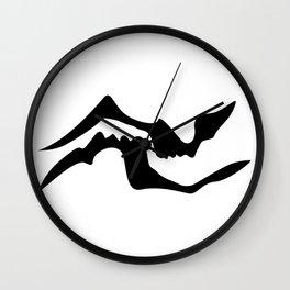 Shadow Kiss Wall Clock