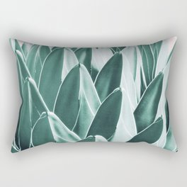 Agave Chic #10 #succulent #decor #art #society6 Rectangular Pillow