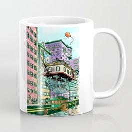 The Flying Aquarium Coffee Mug
