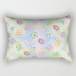 Candy Flowers 1 Rectangular Pillow