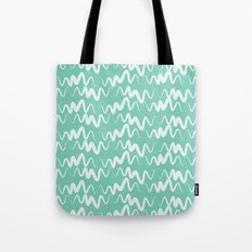 Acqua Line Tote Bag