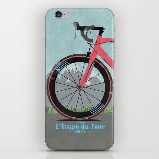 L'Etape du Tour Bike iPhone & iPod Skin