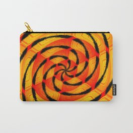 Vibrant tigerlike abstract Carry-All Pouch