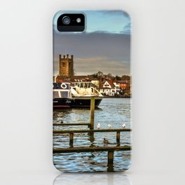 Henley on Thames Riverside iPhone Case