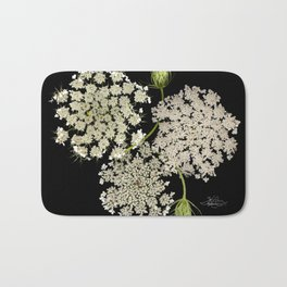 Queen Ann's Lace, Scenography Bath Mat