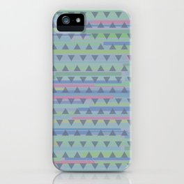 Jazz Dance with triangles iPhone Case