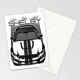 Mustang Shelby GT350 R - Dark Transparent/Multi Color Stationery Cards