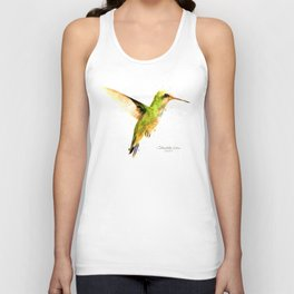 Hummingbird I Unisex Tank Top
