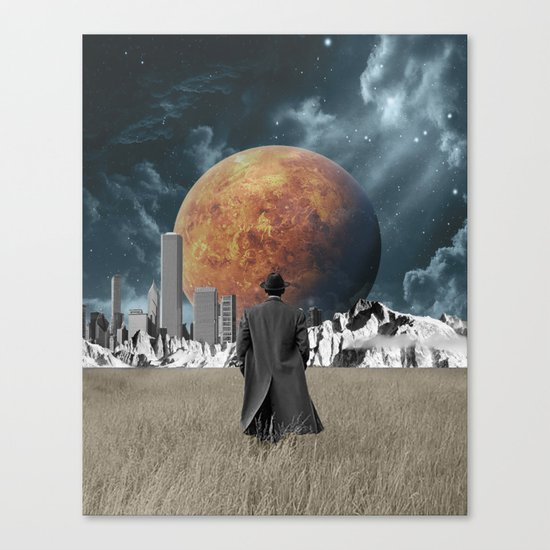 Out of the past & into the future Canvas Print