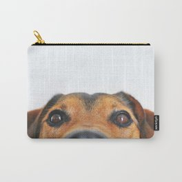 Dog looking at you Carry-All Pouch