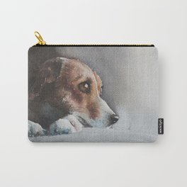 Capella the beagle Carry-All Pouch