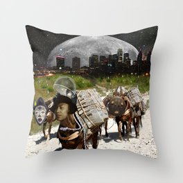 Black Women Are The Mules Of The Earth - Zora Neale Hurston Throw Pillow
