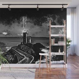 lighthouse plouzane wsbw Wall Mural