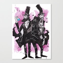 Dr Jekyll and Mr Hyde Canvas Print