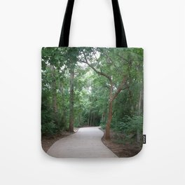 I just felt like running. (no text) Tote Bag