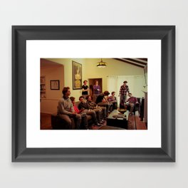 Just the same. Framed Art Print