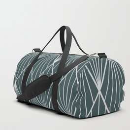 Peacock rhombus pattern Duffle Bag