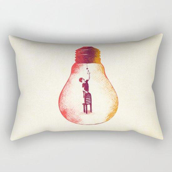 Idea Begins Rectangular Pillow