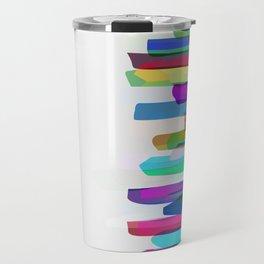 Colorful Stripes 3 Travel Mug