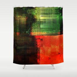 Red 44 Shower Curtain