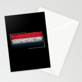 Luxembourg City Stationery Cards