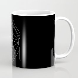 Butterfly Line Art Coffee Mug