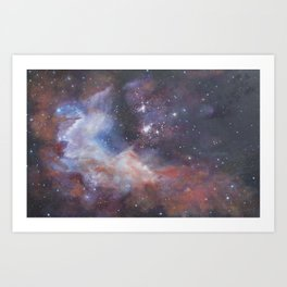 Celestial Swath Art Print