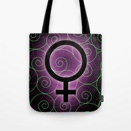 International women's day- female symbol Tote Bag