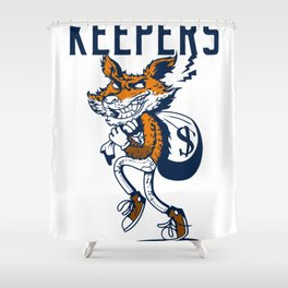 · FINDERS · KEEPERS Shower Curtain