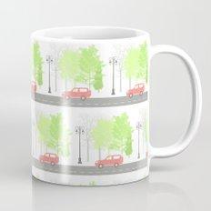 Cars and trees Mug