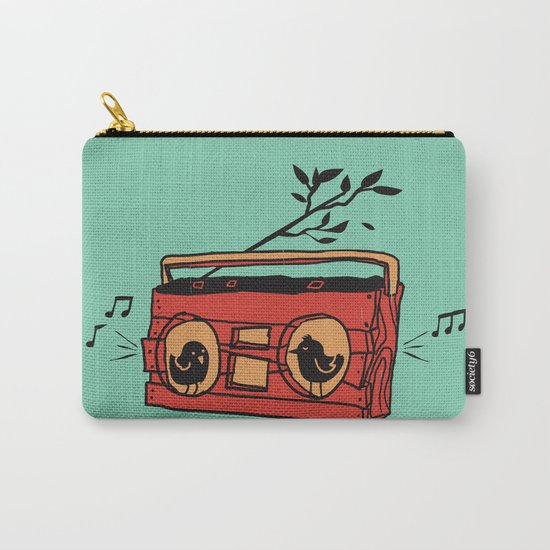 Nature's boombox Carry-All Pouch
