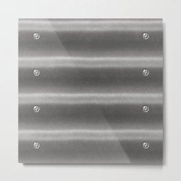 Corrugated Iron Metal Print