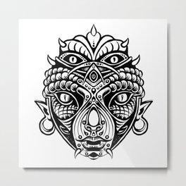 COPPER HEAD Metal Print