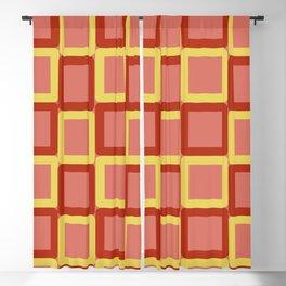60s fabric modern fabric (modern colors) Blackout Curtain