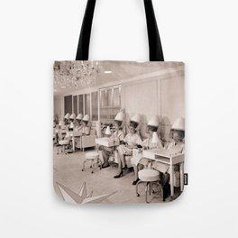 Vintage Hair Salon Tote Bag